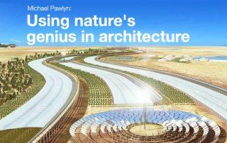 Using Nature's genius in architecture