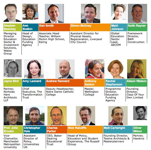 Education Estates Speakers