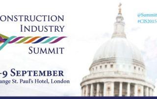 Construction Industry Summit 2015