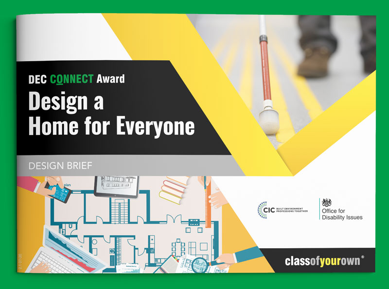 DEC Connect Award - A Home for Everyone design brief cover