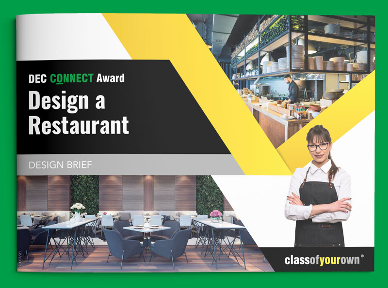 DEC Connect Award - Restaurant design brief cover