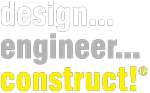 Design Engineer Construct! Logo