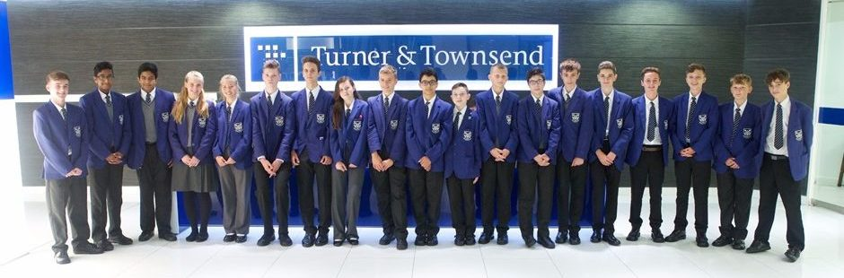 DEC! Students at Turner Townsend