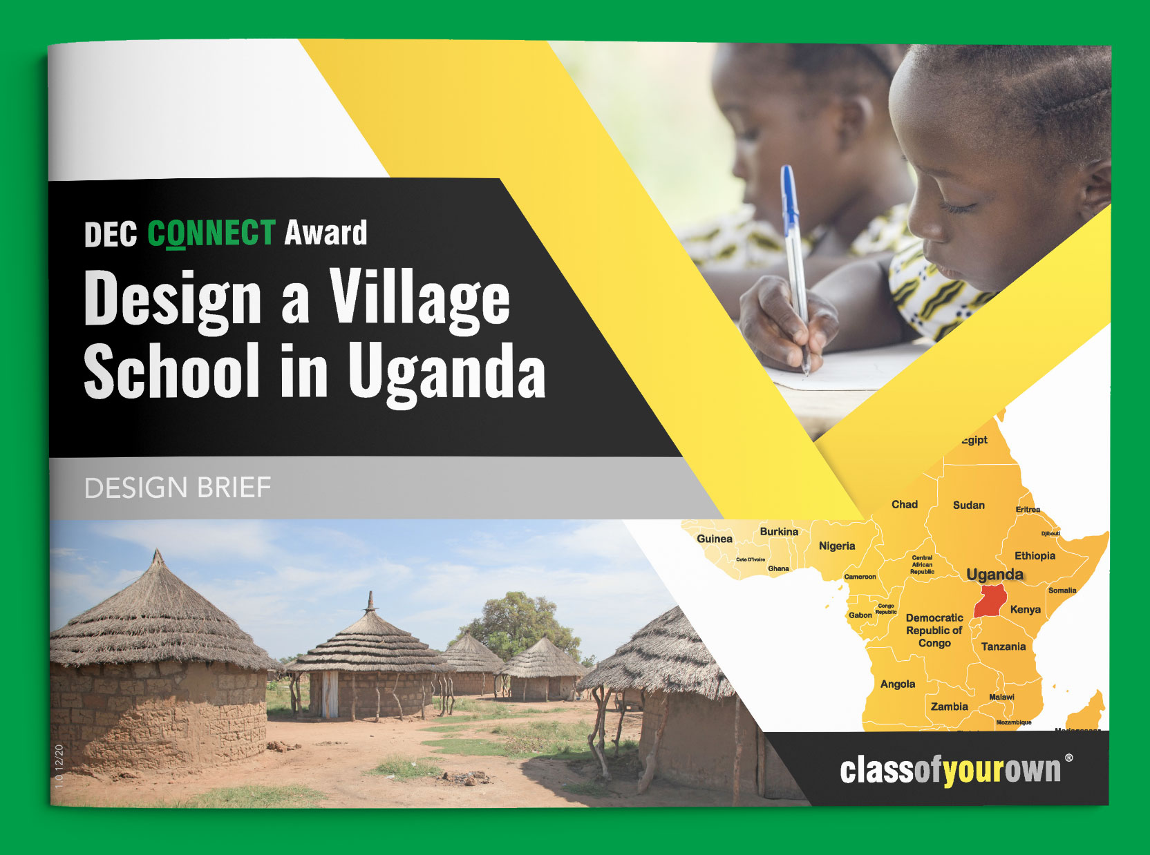 DEC Connect Award Village School in Uganda brief cover